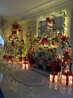 41 Ideas Christmas Tree Decorations Ideas Beautiful Holiday Decorating For 2019 Classy Christmas, Christmas Home, Christmas Holidays, Holiday Tree, Christmas Christmas, Christmas Pictures, Christmas Heaven, Christmas Tree With Presents, Christmas Brunch