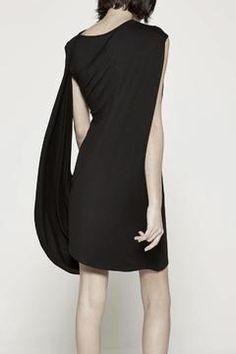 3123786bef9c Drifter Black Drape Dress - Alternate List Placeholder Image Draped Dress,  One Shoulder, Shoulder