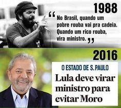 Um dia, e esse está próximo, todos os corruptos serão afogados na onda da indignação do povo… #OcupaBrasilia