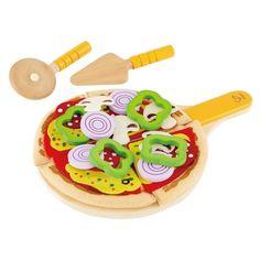 Pizza legemad - Hape trælegetøj 5722