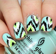 Great summer nail design
