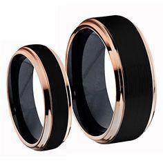 His & Hers Titanium Two-Tone Black IP & Rose Gold IP Brus... https://www.amazon.com/dp/B01D5I0MAQ/ref=cm_sw_r_pi_dp_MxUDxb42VSWWP