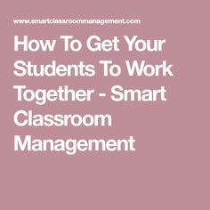 How To Get Your Students To Work Together - Smart Classroom Management Drama Education, Physical Education Games, Leadership Activities, Team Building Activities, Group Activities, Reading Activities, Elementary School Counseling, Elementary Schools, 8th Grade Ela
