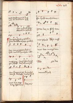 Kolmarer Liederhandschrift Rheinfranken (Speyer?), um 1460 Cgm 4997  Folio 1325