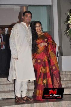 Vidya Balan And Siddharth Roy Kapurs Pre Wedding Bash