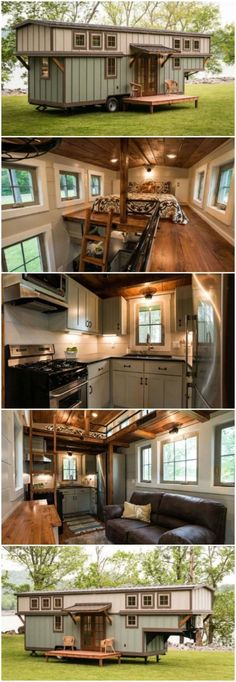 The Timbercraft Retreat Is a Stunning Luxury Tiny House - Timbercraft Tiny Homes. - The Timbercraft Retreat Is a Stunning Luxury Tiny House – Timbercraft Tiny Homes is quite a talen - Tiny House Movement, Tiny House Plans, Tiny House On Wheels, Tiny House Company, Tiny House Living, Home And Living, Living Room, Small Living, Living Area
