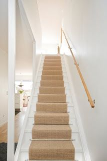 Matta i trappa Stairway To Heaven, Entrance Hall, Stairways, Stiles, Home Renovation, Staircases, Flats, Sweden House, Entry Hall