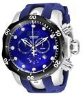 New Mens Invicta 16156 Reserve Venom Swiss Chronograph Blue Dial Watch