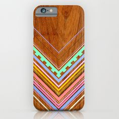 """Aztec Arbutus"" iPhone Case by House Of Jennifer on Society6."
