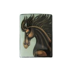 Russian Artist Hand-Painted Horse Miniature Bead – Lumina Inspirations