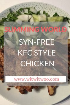Sometimes you can't beat a takeaway and this syn-free KFC style chicken fakeaway really hits the spot! Use your HeB for the coating or adapt it and use the variations I suggest. A great mid-meal healthy meal for the whole family.