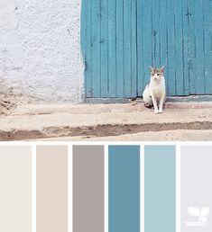 Search design seeds by collection. colour palette for interior turquoise trend - the architects diary Blue Colour Palette, Color Palate, Colour Schemes, Neutral Color Palettes, Color Combos, Color Pairing, Color Blue, Casa Santa Rita, Palette Design