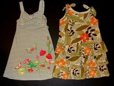 Gymboree summer dresses size 5, beautiful!