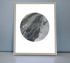 PLUTO - Grey, white, blackMoon/Planet Art Print 8X10, 11X14 by PrettyPaperPlaceShop on Etsy Grey And White, Planets, Art Prints, Unique Jewelry, Handmade Gifts, Shop, Etsy, Vintage, Art Impressions