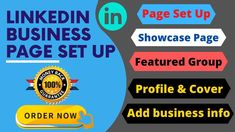 Hi, Welcome to Best Linkedin Business page creation and set up Gig.Do you want to grow your business by Linkedin? Then a Business page is must need to grow your business and brand.Do you know linkedin has over 260 million active user monthly. In this time if you skip linkedin, so for sure you will miss the chance to increase your business. Social Media Marketing, Digital Marketing, Linkedin Business, Linkedin Page, Business Contact, Call To Action, Business Pages, Lead Generation, Growing Your Business