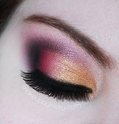 Golden Pink created by makeupbyhilary on Makeup Geek!