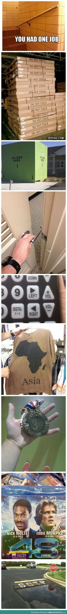 Arg! This bugs me so much, lol. My ocd kicks in a lot for most of these