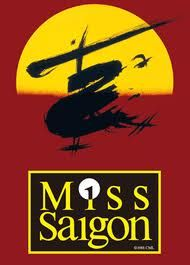 miss saigon.have seen this several times on Broadway! I ❤this show! It is my favorite musical, just behind Les Miserables! Theatre Shows, Theatre Geek, Musical Theatre, Broadway Plays, Broadway Shows, Broadway Nyc, Miss Saigon Musical, Prince Edward Theatre, Stage Show