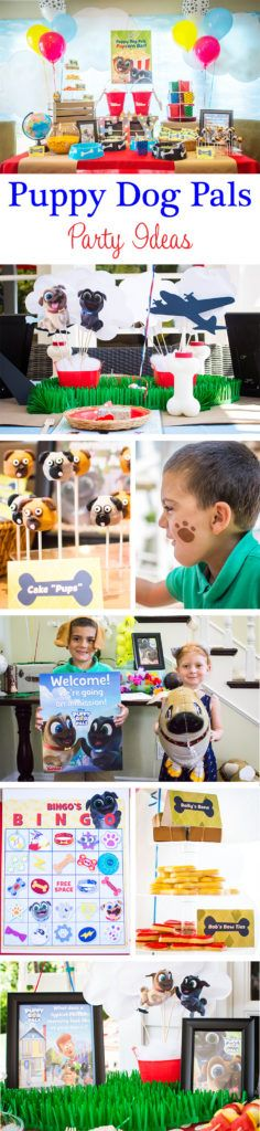 AD You're going to love these Puppy Dog Pals party ideas, featuring adorable Pupcorn bar featuring Puppy Chow Mix station, Cake 'Pups' and Fetch Sticks! http://fancyshanty.com/disney-juniors-puppy-dog-pals-party-ideas/?utm_campaign=coschedule&utm_source=pinterest&utm_medium=Fancy%20Shanty%C2%AE&utm_content=Disney%20Junior%27s%20Puppy%20Dog%20Pals%20Party%20Ideas