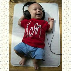 KoRn fan from the start:) Kids R Us, Children, Jonathan Davis, Artist Quotes, Nu Metal, Song Quotes, Great Bands, Music Lyrics, Baby Fever