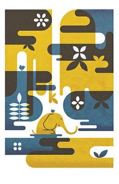 Foliage - Parko Polo  #patternpod #beautifulcolor #inspiredbycolor