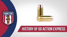 50 Action Express Ammo - History #AmmoHistory #Ammo #50AE #50AEAmmo #50AEAmmoHistory