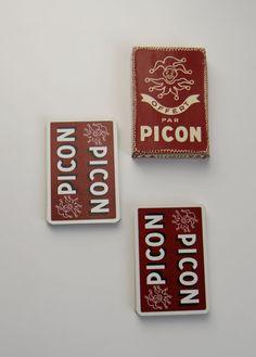 Carte à jouer 4 familles de la marque Picon par 10H01 sur Etsy