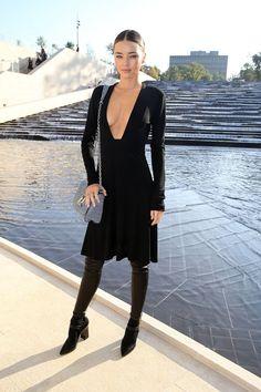 Pin for Later: Miranda Kerr macht auch abseits des Laufstegs eine super Figur Sie hat keine Angst davor Haut zu zeigen