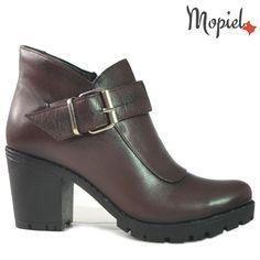 Ghete dama din piele naturala 218302/100-00-1229/Bordo/Evelina Mary Janes, Flats, Shoes, Fashion, Loafers & Slip Ons, Moda, Zapatos, Shoes Outlet, Fasion