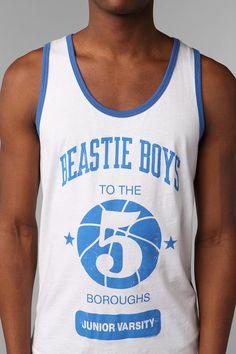 Beastie Boys Tank Top  #UrbanOutfitters