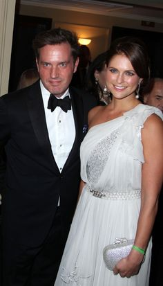 Princess Madeleine and Chris O'Neill's first night out as an engaged couple