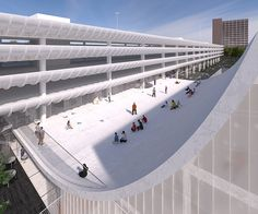 Youth centre proposals shortlisted for Brutalist Preston Bus Station refurbishment Preston Bus, Boston City Hall, Youth Center, Listed Building, Bus Station, Design Competitions, Dezeen, Brutalist, Centre