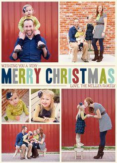 Custom Christmas Card by SixFootPhotography on Etsy