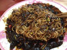 black-bean-sauce noodles korea name..jajangmyeon