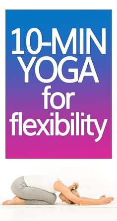 Release tightness and get more flexible with this beginner-friendly 10-minute yoga stretch for flexibility. #yogastretch #yoga #yogasequence Stretches For Flexibility, Body Stretches, Stretching Exercises, Kid Poses, Yoga Poses, Full Body Stretch, Corpse Pose, Womens Wellness, Relaxing Yoga