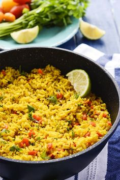 Enjoy this delicious and healthy Turmeric Coconut Rice for your next meal. Brown… Enjoy this delicious and healthy Turmeric Coconut Rice for your next meal. Brown rice simmered in seasoned coconut milk with onion, garlic, and thyme. Indian Food Recipes, Whole Food Recipes, Vegetarian Recipes, Cooking Recipes, Healthy Recipes, Healthy Brown Rice Recipes, Vegetarian Rice Dishes, Seasoned Rice Recipes, Cooking Kale