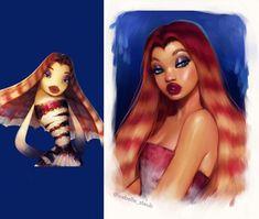 Gallery Turns Disney Animals into Humans Disney Princess Fashion, Disney Princess Drawings, Disney Drawings, Cartoon Drawings, Cartoon Art, Cute Drawings, New Disney Princesses, Disney Characters As Humans, Humanized Disney
