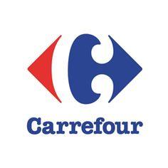 カルフール(Carrefour)のロゴ:交差点に・・・ | ロゴストック