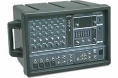 The church has this yamaha power mixer -$299.99 Model# emx62m To go with our projector for outdoor movies