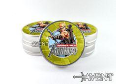 """Lembrancinha latinha """"mint to be"""" customizada com o tema """"Vingadores"""" personagem """"Gavião Arqueiro""""."""