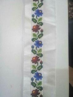 Cross Stitch Art, Veronica, Floral Tie, Macrame, Colours, Illustration, Embroidery Stitches, Roses, Punto De Cruz