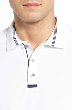 Main Image - Bobby Jones Tech Piqué Golf Polo