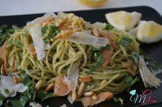 Spaghetti freddi al salmone - La Cucina di MariGiù