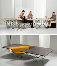 @PROOFF & UNStudio sharing the Emporio building during Tortona #Design Week 2013 #desk #work