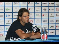 Rafael Nadal Press conference / R1 China Open 2015 - YouTube