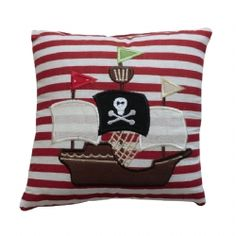 Sweet pirate ship cushion £7.99
