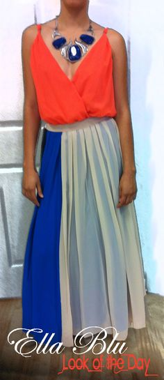 Another Summer Trend:  Maxi Skirts.     At Ella Blu!