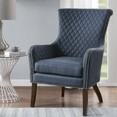 Small Accent Chairs For Living Room Living Room Chairs, Arm Chairs Living Room, Furniture Chair, Wingback Chair, Chair, Furniture, Accent Chairs, Chair Design, Chair Upholstery