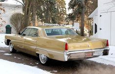 1969 Cadillac DeVille Rear Maintenance/restoration of old/vintage vehicles: the material for new cogs/casters/gears/pads could be cast polyamide which I (Cast polyamide) can produce. My contact: tatjana.alic@windowslive.com