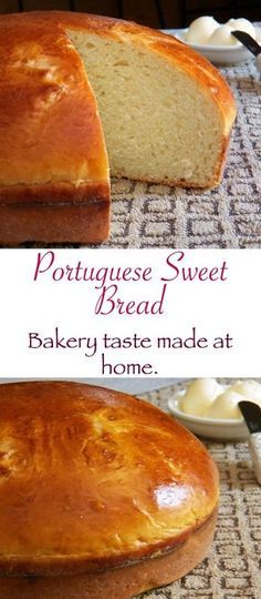 Portuguese Sweet Bread-slightly sweet and so delicious.